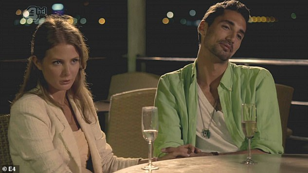 Way back when: The pair briefly dated during their Made In Chelsea days back in 2011 (pictured in series one of the E4 show) and reunited in May 2016