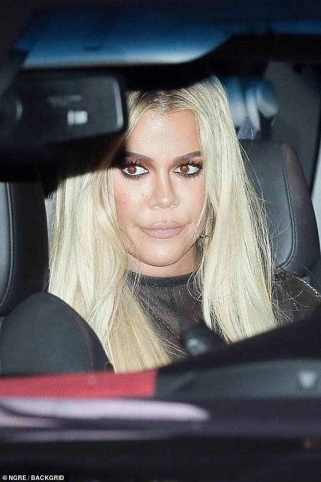 Hmmm...A source told People magazine: 'It's hard not to admire Khloe. She decided that she was going to be in a good place with Tristan, because of True and she really is. She refuses to be bitter and dwell on the past. Tristan still tries to date her'