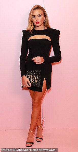 ... and TOWIE newcomerElla Rae Wise were also in attendance on Thursday evening