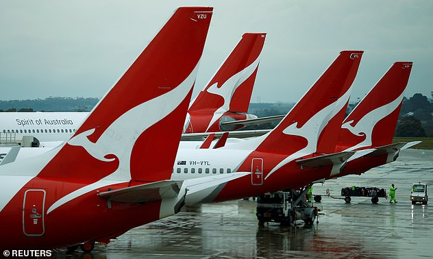 Not happy! Qantas hit back in a statement and laid the blame on the American singer