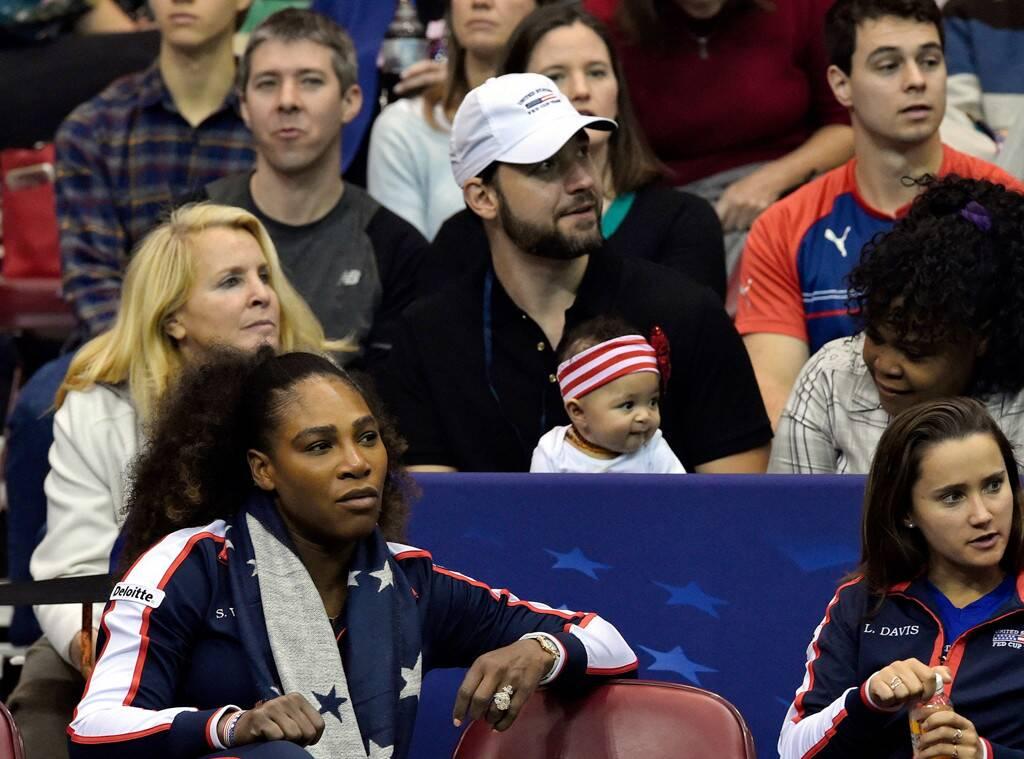 Serena Williams, Alexis Ohanian, Alexis Olympia