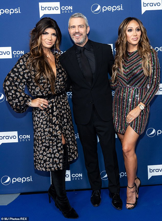 Family: While the new series teases family drama, that has been seen with sister-in-laws, Teresa Giudice and Melissa Gorga on RHONJ