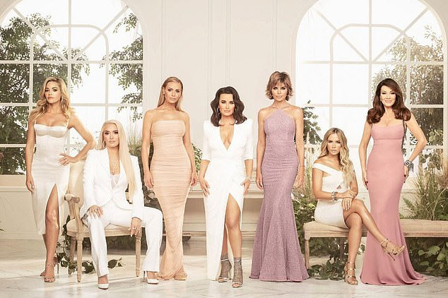 Salt Lake makes 10! RHOSL will be the 10th city to join the Real Housewives franchise - joining: The Real Housewives of Orange County, The Real Housewives of New York City, The Real Housewives of Atlanta, The Real Housewives of New Jersey, The Real Housewives of D.C., The Real Housewives of Beverly Hills (pictured) , The Real Housewives of Miami, The Real Housewives of Potomac, and The Real Housewives of Dallas