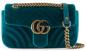 For one night only: consider renting upmarket accessories and dresses just for the party, such as this Gucci bag from mywardrobehq.com