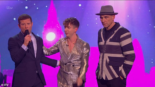 I want to go:Ahead of the judges vote, the star decided that it was his time to leave the show and made to sacrifice his place in the competition to keep Kevin in