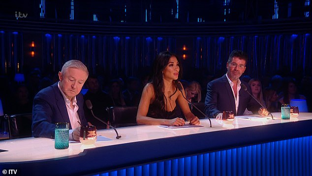 Decision:The music mogul demanded that he make the 'final decision' and called for the judges to continue voting regardless