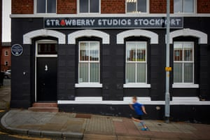 Facade of Stockport's Strawberry Studios