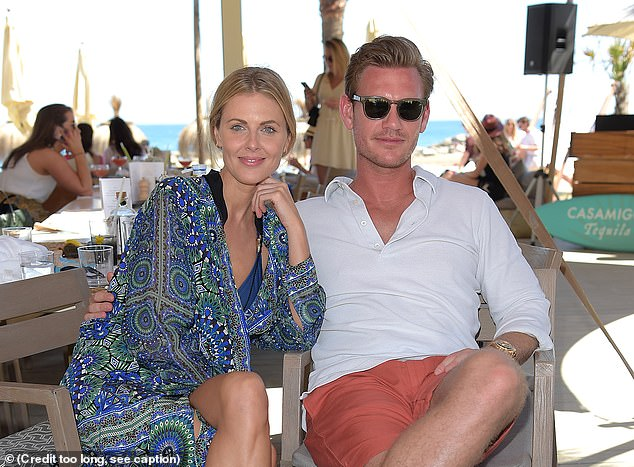 Step forward posh property developer Ben Carrington, a former boyfriend of TV presenter Donna Air