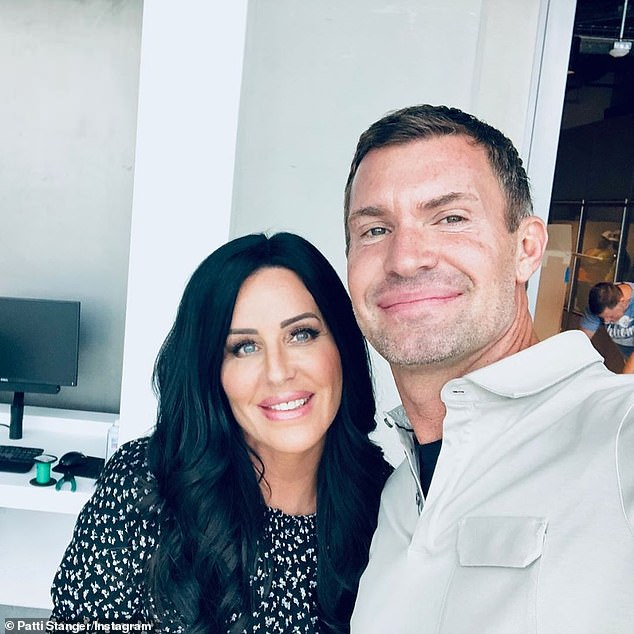 Friends: Fellow Bravo star Patti Stanger hooked the couple up earlier this year after he split from long-term boyfriend Gage Edwards