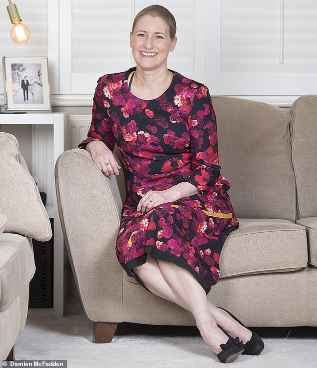 Breast cancer patients can now undergo a mastectomy and nipple-preserving breast reconstruction in one procedure. Pictured:Sophie Williams who had the operation