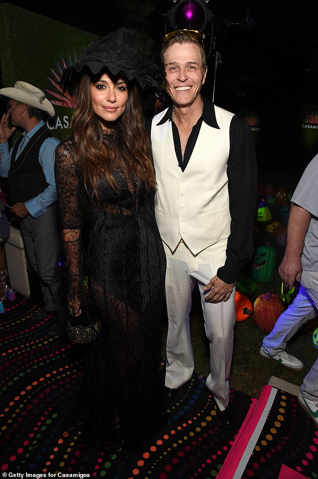 Relationship debut: Pia and Patrick Whitesell first debuted their romance atCasamigos' A-list Halloween party in Beverly Hills in October