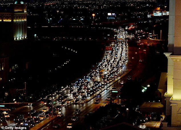 Las Vegas officials hope to eventually integrate self-driving cars into the AI traffic management system