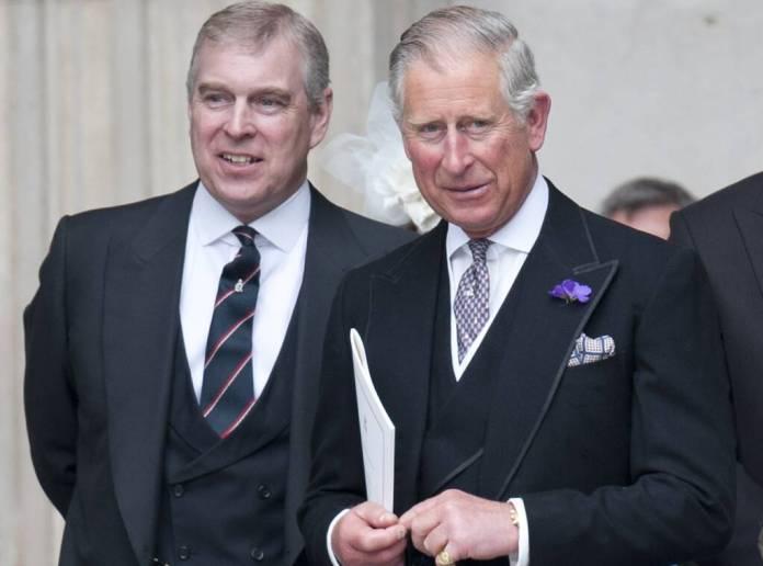 Prince Andrew, Prince Charles