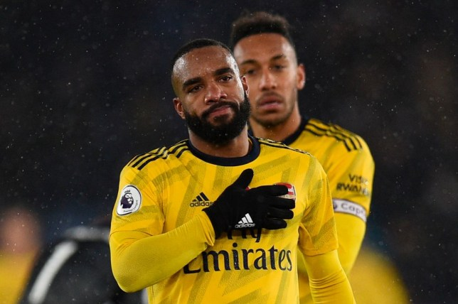Alexandre Lacazette and Pierre-Emerick Aubameyang were starved of service during Saturday's defeat at Leicester