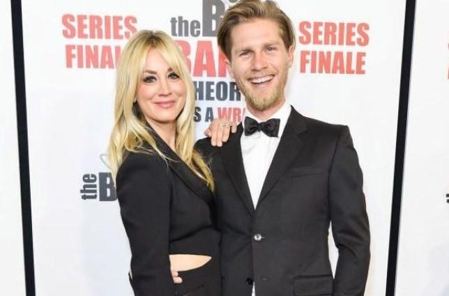 Kaley Cuoco and husband Karl Cook
