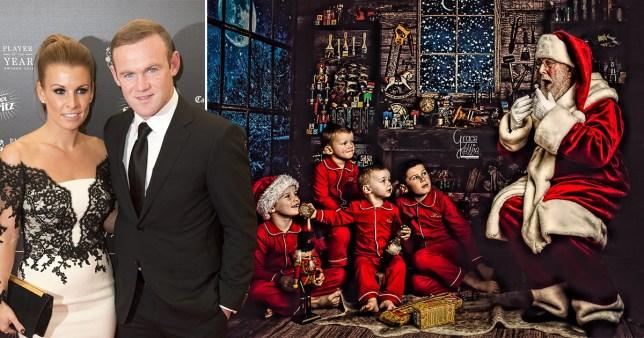 Wayne and Coleen Rooney's kids