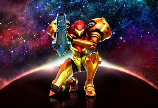 Metroid: Samus Returns key art
