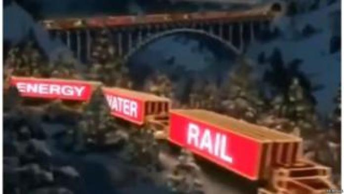 Momentum campaign ad based on Coca-Cola 'holidays are coming ad'