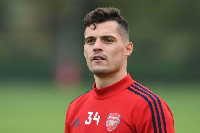 Granit Xhaka says he still does not understand Arsenal fans for their reaction