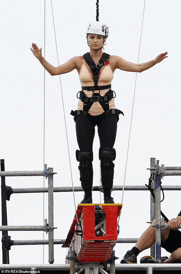 Get me out of here! The stars of I'm A Celebrity.. Get Me Out of Here 2019 will be chucked straight in at the deep end with a 'horrendous' 300ft high-rise plank being the hardest 'walk-in' in the show's history (above Ola Jordan in 2016)