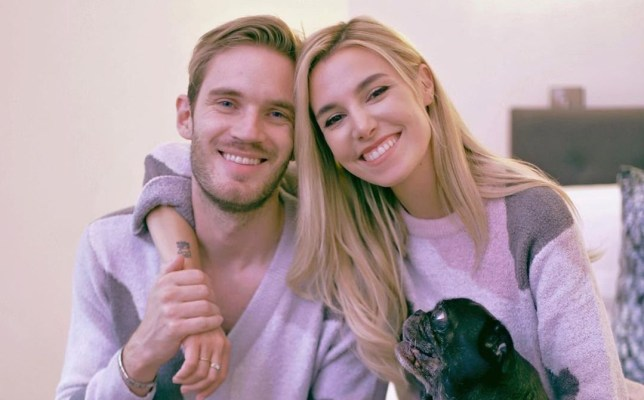 PewDiePie and Marzia