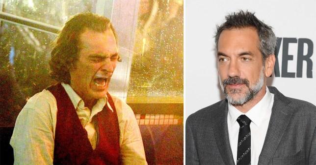 Joker's Joaquin Phoenix and Todd Phillips