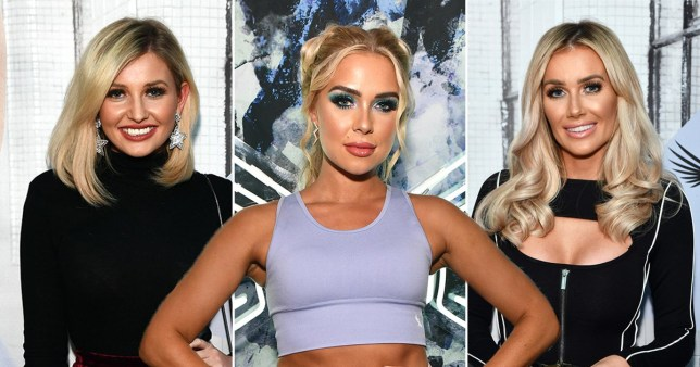 Gabby Allen, Amy Hart, and Laura Anderson