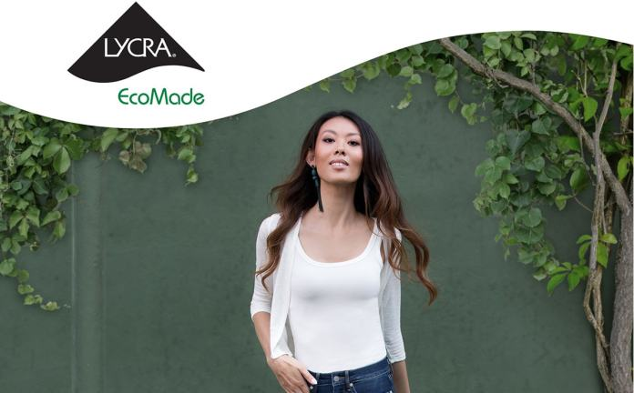 Lycra's first recycled EcoMade fibers earn GRS Certification