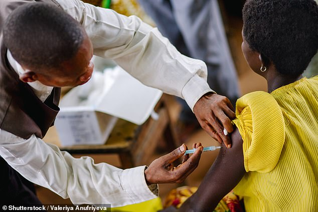 Measles has killed almost 5,000 people - mostly children - in the Democratic Republic of Congo in 2019 (file image)