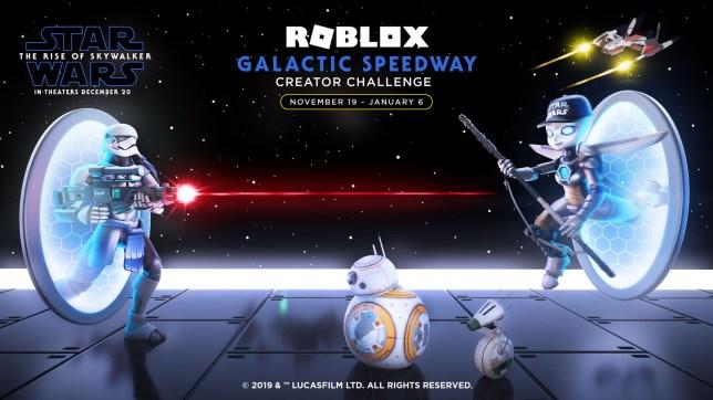 Star Wars X Roblox banner