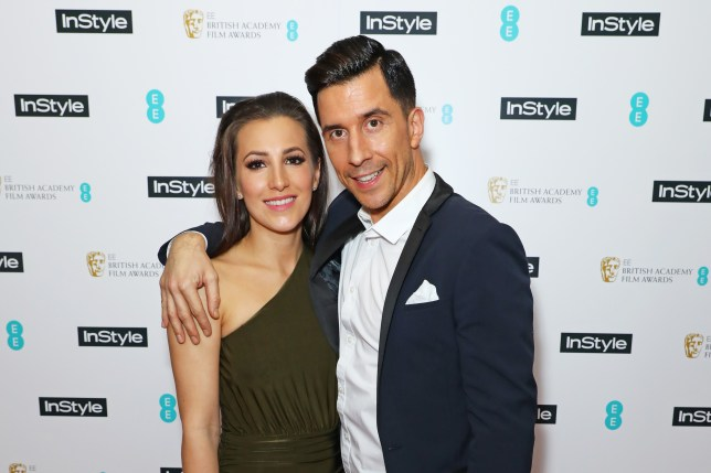 Russell Kane and wife Lindsey