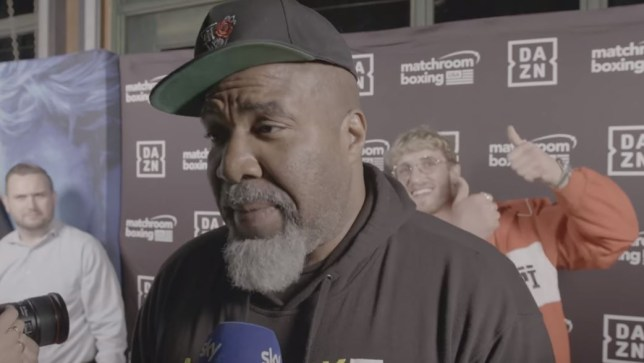Shannon Briggs could be banned from ringside for KSI vs Logan Paul