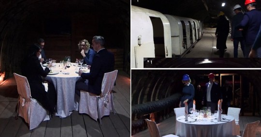 Derelict coal mine reopens as fine dining experience