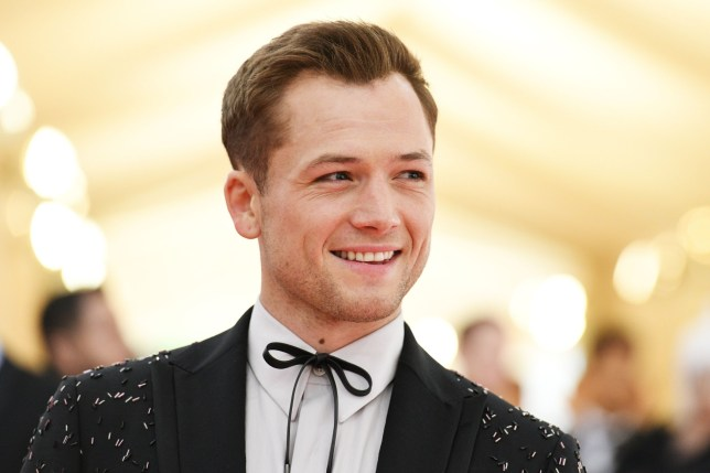 Mandatory Credit: Photo by Clint Spaulding/REX (10227716eg) Taron Egerton Costume Institute Benefit celebrating the opening of Camp: Notes on Fashion, Arrivals, The Metropolitan Museum of Art, New York, USA - 06 May 2019