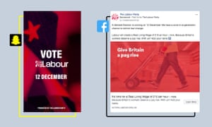 Labour campaigns on Facebook and Snapchat