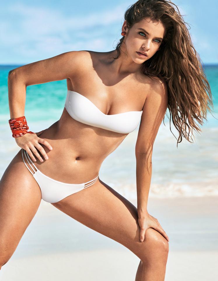 Barbara Palvin sends fans wild as she poses in a bikini