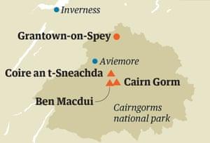 Cairn Gorm map