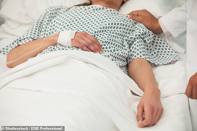 Figures show 10,958 deaths were recorded in England and Wales during the last full week of November - eight per cent higher than last year (stock)
