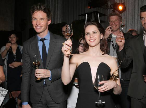 Eddie Redmayne, Felicity Jones