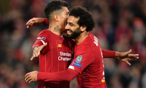 Mohamed Salah sealed victory at Anfield.