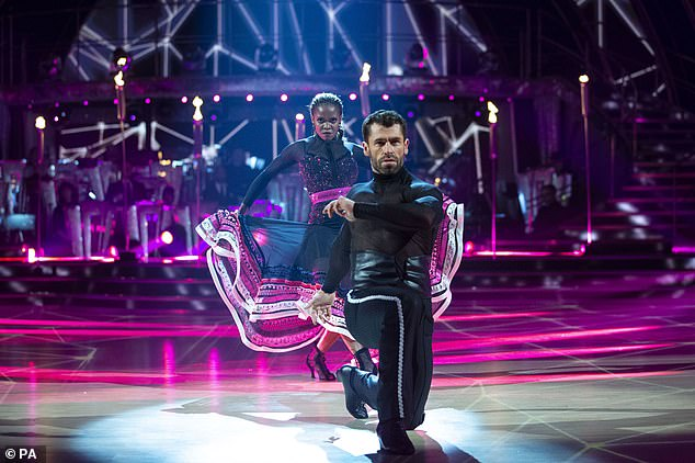 Harsh words: Ex Strictly pro dancer James Jordan has blasted Kelvin Fletcher saying he made too many mistakes in his Paso Doble on Saturday night and did not deserve a 10 from Motsi