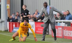 Sol Campbell has taken on a tough job at Southend. 'Sometimes you get a team that has almost forgotten how to win,' he says.