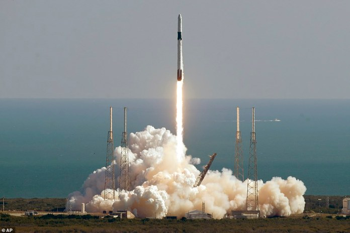 SpaceX successfully launched the 'Dragon' capsule on top of its Falcon 9 rocket from Cape Canaveral Air Force Station, Florida for its 19th commercial resupply mission to the International Space Station
