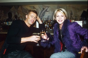 With Lee Chapman in 2001.