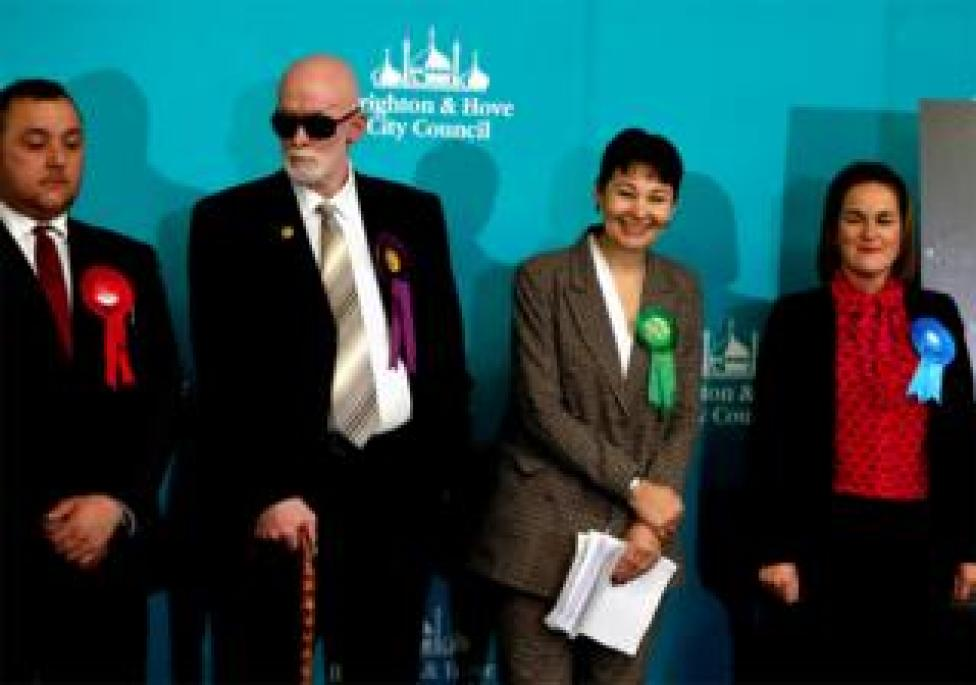 Green Party candidate Caroline Lucas