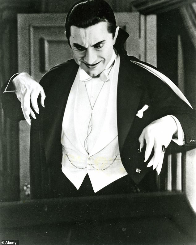Classic look: Bela Lugosi is also one of the actors best associated with playing the character, which he portrayed in 1931's Dracula