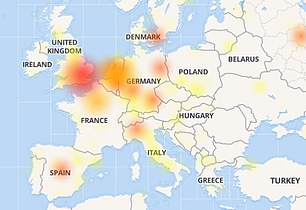 Users say they are unable to access their news feeds and some are unable to log in entirely