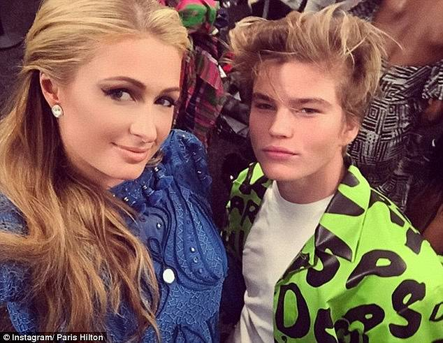 Just friends: At the time, Jordan denied he was dating the American former reality star