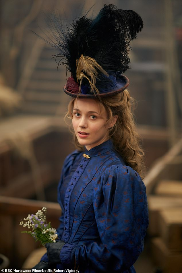 More to come: Viewers will also meet a new female character called Dorabella (Lily Dodsworth-Evans) in the three-part series