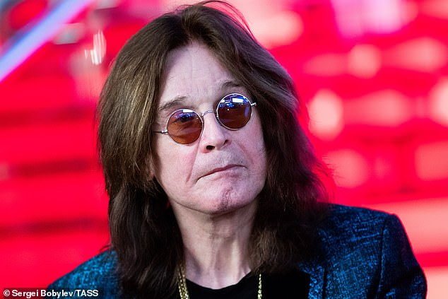 Late friend:Rhoads performed with Ozzy, after he departed Black Sabbath, in 1979 until his death in 1982, at the age of 25 in a plane crash